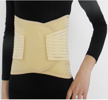 fish silk back support