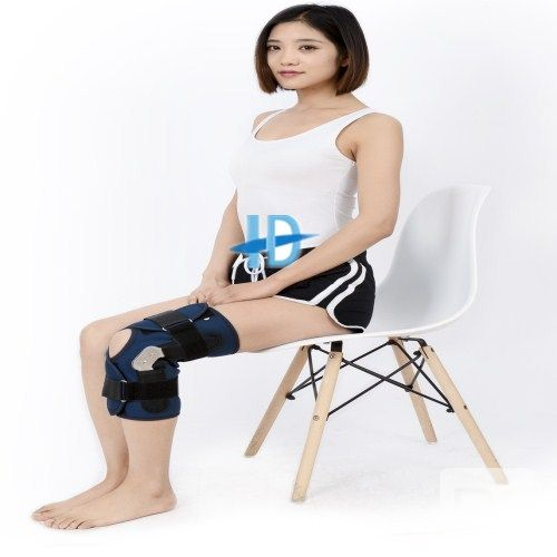 knee brace with plate
